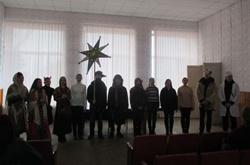 Ученики Еланецкой гуманитарной гимназии приходили колядовать в райгосадминистрацию